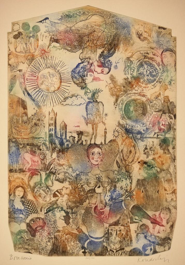 kondor, boccaccio, image