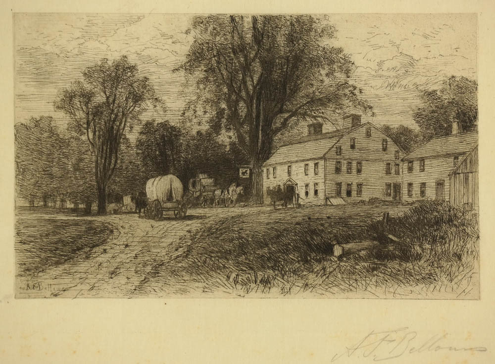 Bellows, A F - The Wayside Inn - image _