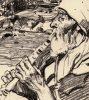Brangwyn - Goatherd 294-4