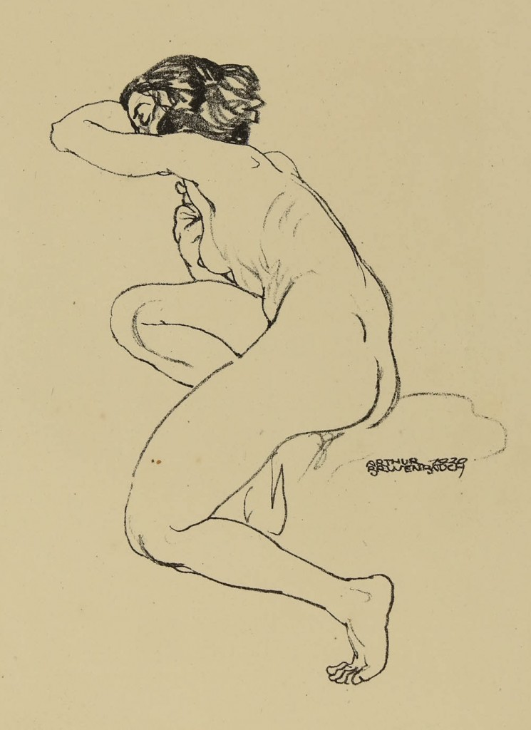Brusenbauch, Female Nude - image