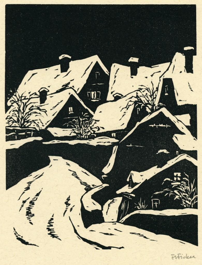 Ficker, Friedbert - Old City in Winter - wdct 002-2-2