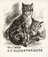 kotrba-emil-cats-kloosterboer-lithograph-107