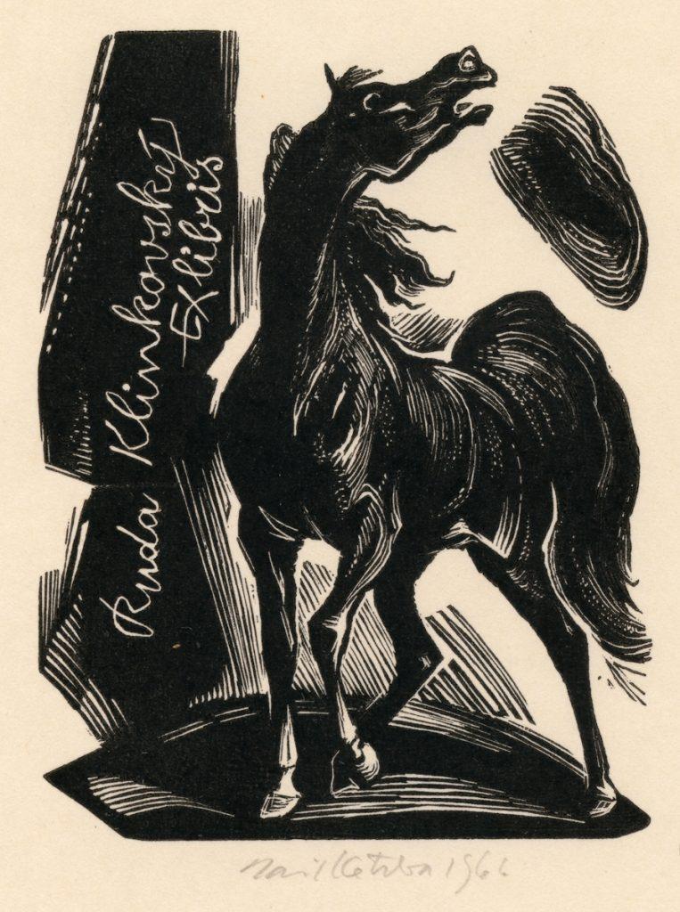 kotrba-emil-neighing-horse-klinkovsky-wood-engraving-116-2