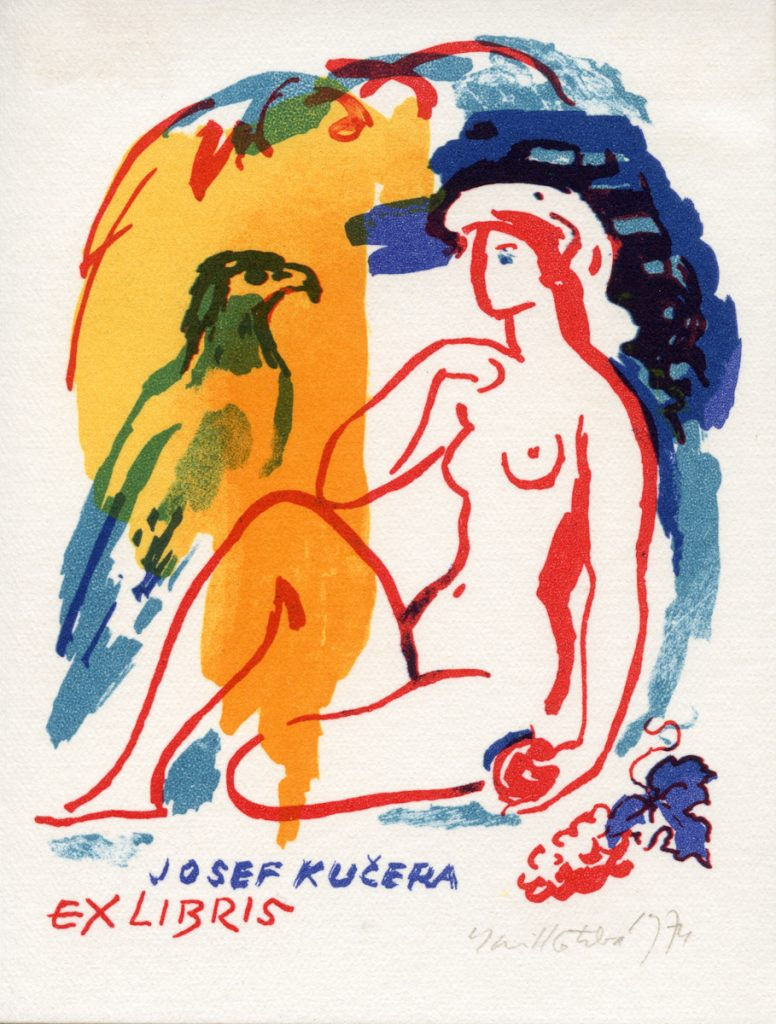 kotrba-emil-nude-eagle-color-lithograph-kucera-101