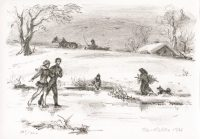 kotrba-emil-winter-scene-with-skaters-lithograph-174