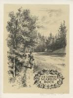 Kotrba - woman , path, exl Bock - sheet