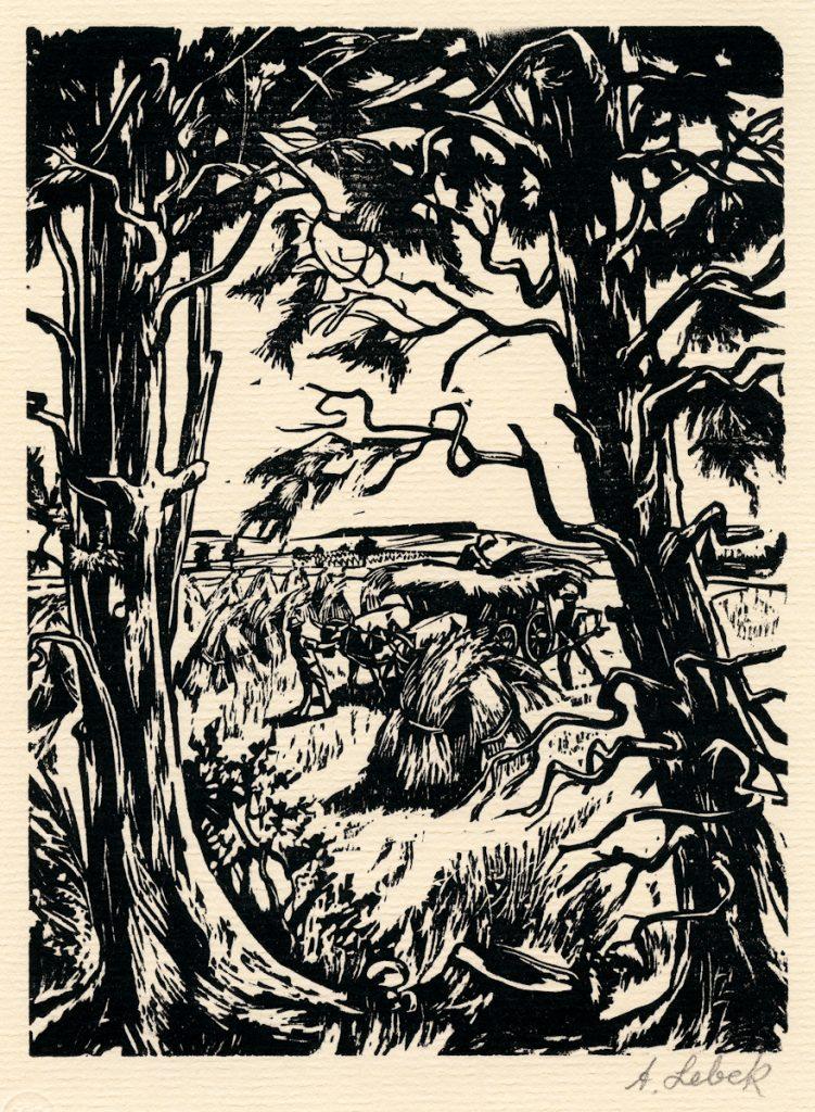 Lebek, Johannes - haymaking - 208-2