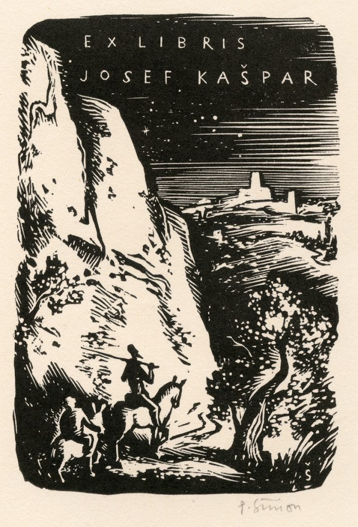 simon-pavel-wood-engraving-quixote-panza-mountain-path-146-2