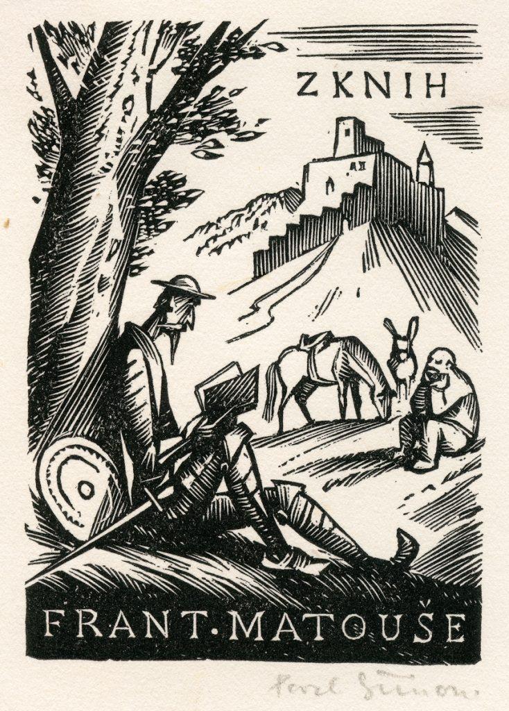 simon-pavel-wood-engraving-quixote-reading-under-tree-139-2