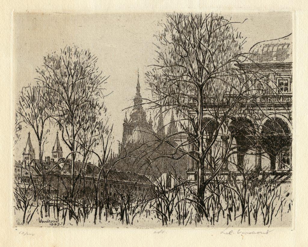 Vondrous, Jan - Queen Anne's Summer Palace, Prague300