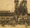 Vondrous - Old City Square, East Prague - left detail