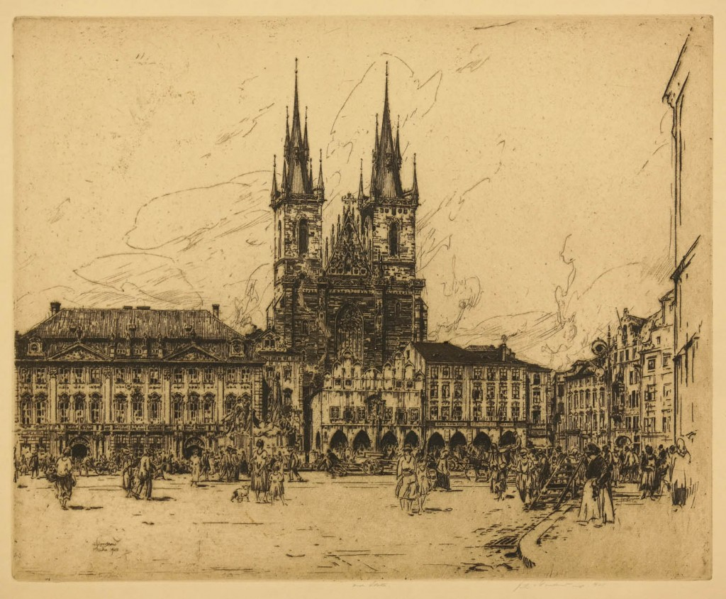 Vondrous - Old city Square, East Prague - image