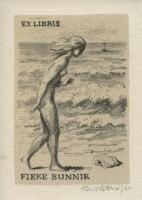 kotrba - nude woman and sea